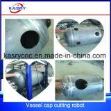 Plasma di CNC/macchina del foro di /Opening taglio alla fiamma per la testa dell'imbarcazione/la testa/coperchio del piatto