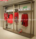 Armadietto di esposizione multifunzionale per il negozio dell'indumento, mensola di visualizzazione, caso di visualizzazione