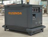 Tri type silencieux générateur de l'essence de Fusinda 16kw/15kw/17kw (LPG/NG/Gasoline) de réserve