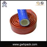 Chemise tressée de fibre de verre pour des types de liquides hydrauliques