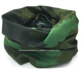 Il verde su ordine dell'esercito di Microfiber del poliestere dell'OEM ha stampato il Buff del tubo del collo
