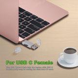 タイプC、USB aおよびマイクロのためのTFのカード読取り装置のアダプター
