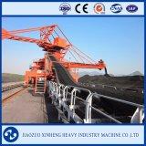 Schwerindustrie-Kohle, die System - Bandförderer übermittelt