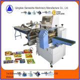Máquina de embalagem horizontal do fluxo do Gelo-Lolly