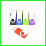 다채로운 USB Pendrive 회전대 금속 USB 섬광 드라이브