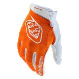 La guida esterna del guanto professionale arancione di Skidproof mette in mostra i guanti (MAG79)