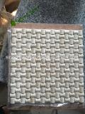 Beige Fliese des Marmor-3D