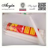 África vela de cera de parafina en bolsa de papel Kraft