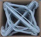 Le paquet de fil en métal 50 blanc vêtx des crochets de brides de fixation de vêtement de couche