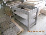 Cabinas de cuarto de baño de madera artificiales de la chapa