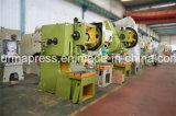 Imprensa de potência do C-Frame J23, máquina de carimbo mecânica Jb23 do metal, imprensa de perfuração do volante