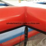 Bunt u. Hand Swimmingpool mit Netz bilden