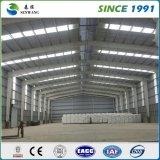 Costruzione prefabbricata del magazzino della struttura d'acciaio di prezzi competitivi