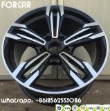 O carro de alumínio orlara as rodas da liga da réplica M6 para BMW