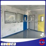 Rodillo interior sala limpia de plástico vertical de la puerta del obturador