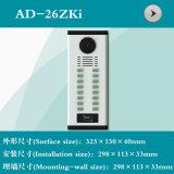 Videotür-Telefon-Shell mit Identifikation-Karte (AD-26ZKI)