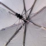 Superlight automatischer kompakter faltender Regenschirm für das Bekanntmachen (FU-3821ZFA)