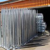 Pile au sol galvanisée de vis d'acier inoxydable d'IMMERSION chaude pour le support de panneau solaire