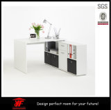 O Fashion o mais novo Wooden Can Gather Computer Desk com PC Cabinet Bookcase de Drawer