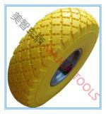 3.00-4 Wagon Trolley Wheel PU Foam Solid Tire