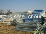 Mosambik-fabrizierte modulares vorfabriziertbauvorhaben/Stahlkonstruktion vor