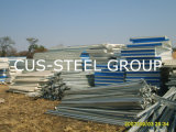 모잠비크 조립식 강철 흘려졌거나 조립식으로 만들어진 강철 구조물
