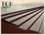 madera contrachapada hecha frente película de la prueba del agua de 17mm/18m m para la construcción/el uso del edificio