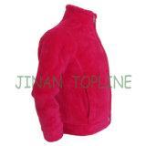 Junior Faux Fur Metal Zipper Fake Fur Jacket