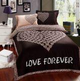 2016最も新しい綿綿繻子の寝具の一定の/Bedシート