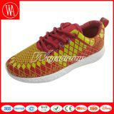 Chaussures de sport Comfort Lcae-up Women with Mesh Printing