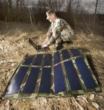 Chargeur solaire de bloc d'alimentation de solution de pouvoir d'armée