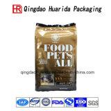 Bolso lateral del lacre de la alta calidad 3 para el envasado de alimentos de animal doméstico