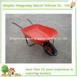 Heavy Duty Contractor100L Wheelbarrow Wheelbarrow Wb8618 with Pneumatic Wheel