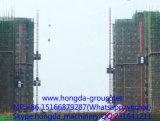 1のそして2トンロードが付いているHongdaの建物の起重機
