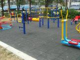 Резина спортивной площадки Kindgarten кроет настил черепицей напольной резиновый спортивной площадки плитки резиновый