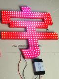 12 mm / Carta Blanca DC 5V / 12V LED Pixel luz de la secuencia de Expuesta al aire libre