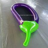 Colchón inflable del flotador de la berenjena del flotador del PVC de la manera