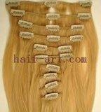 100% Menselijke Remy & het Maagdelijke Haar van de Opperhuid/Klem in de Uitbreiding van het Haar