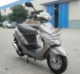 De Scooter van het gas