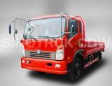 Caminhão Flatbed do camião do caminhão 4X2 de Sinotruk Cdw 757 mini