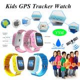 O GPS impermeável caçoa o relógio de pulso do perseguidor com tecla do SOS (Y5W)