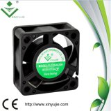 Micro ventilador plástico da C.C. do ventilador de refrigeração 5V 12V 24V 40X40X20mm com bom fluxo de ar