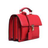 Saco de mão das senhoras do couro genuíno da alta qualidade, saco de Tote europeu do estilo (90671)