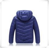 Куртка способа темного цвета Hoody детей популярная вниз прокладывая классическую куртку 601