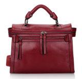 China personalizou o saco da mulher da bolsa quente do couro da forma/couro genuíno da forma