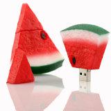 Memoria esterna rossa U dell'istantaneo dell'anguria del bastone/pollice 4G 8g 16g 32g 64G di memoria dell'azionamento dell'istantaneo del USB della frutta dell'azionamento della penna del disco chiave di Pendrive