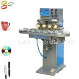 컨베이어를 가진 기계를 인쇄하는 TM-C4-P 4 색깔 CD/Golf 컵 공 패드
