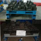 palette en plastique perforée lourde de 1200*1000mm grande Rackable pour l'industrie