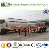 Du Tri-Essieu 40FT de conteneur de camion remorque squelettique semi pour le port