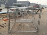 Jaula de los desperdicios para la anchura galvanizada sumergida caliente de los compartimientos 1500m m del mercado de Australia